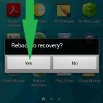 Как андроид загрузить в рекавери 5