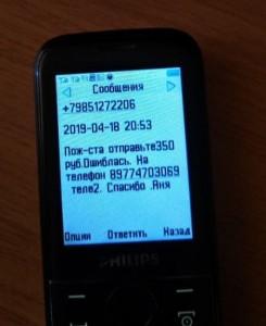 Осторожно телефонные мошенники