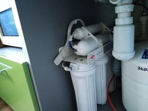 Установленные фильтры для воды фирмы Аквабайт