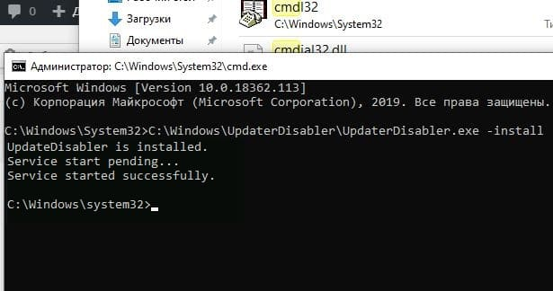 UpdaterDisabler.exe -install
