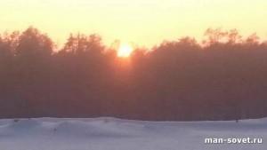 Природа Севера Зима _2