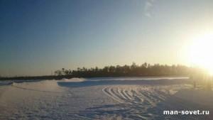 Природа Севера Зима _3