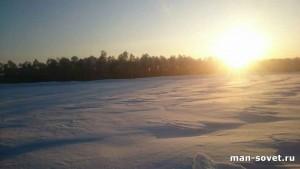 Природа Севера Зима _7