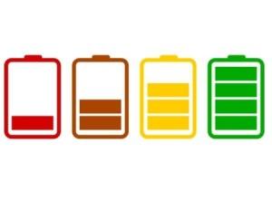 Уровни заряда батареи
