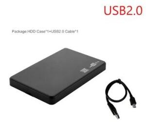 USB2.0 корпус для жесткого диска 2,5 дюймов