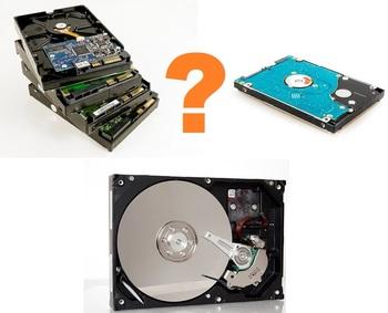 Выбираем внешний жесткий диск