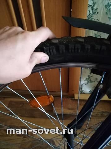 Как правильно накачать переднее колесо велосипеда насосом