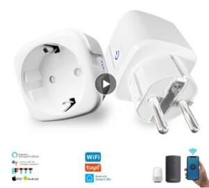 умная Wifi розетка с монитором питания